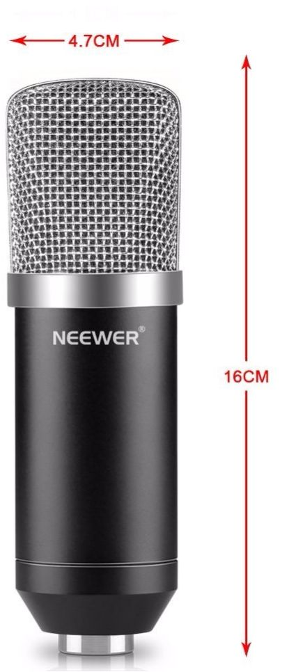 Neewer NW-700 Professional Studio Broadcasting Recording Condenser Microphone kit