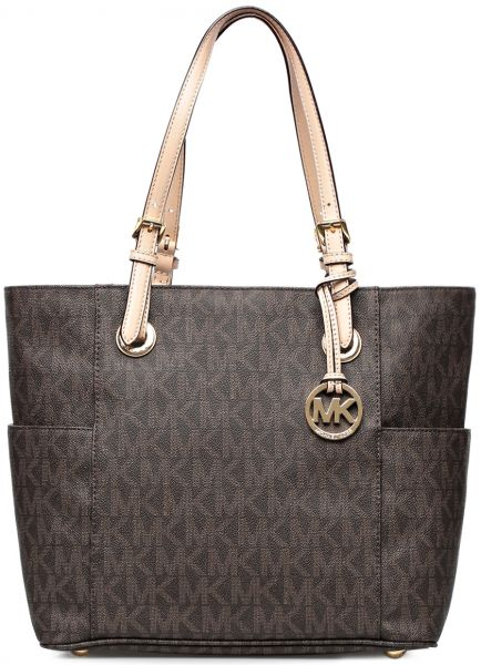 Michael Kors 30S11TTT4B-200 Jet Set Item Tote Bag for Women - Brown ... 6adffcc76d914