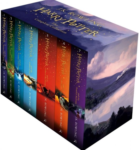 Harry Potter The Complete Collection By J K Rowling Paperback