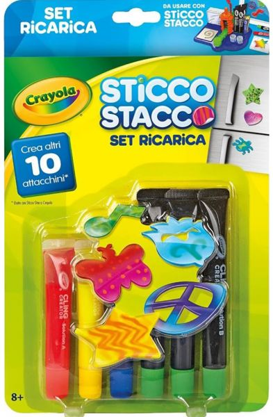 Crayola 747093 Cling Creator Refill Pack