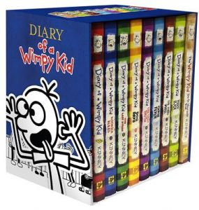 Books diary kid book 1 alfredalfred musichal leonard uae diary of a wimpy kid box of books 1 8 the do it yourself book by jeff kinney hardcover solutioingenieria Images