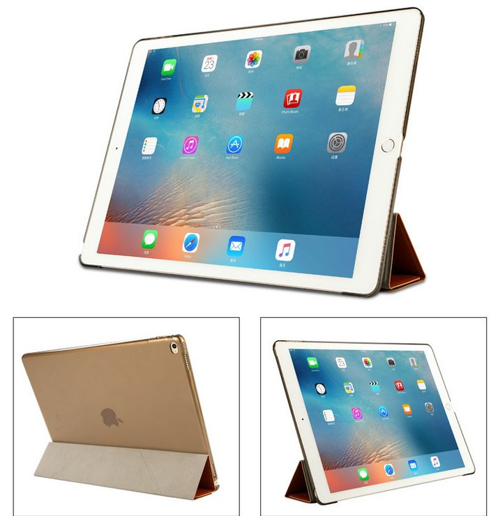 Classic Business style Leather Luxury Rotatable Stand Smart Cover Case For Apple iPad Pro 12.9Inch MM06