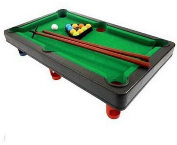 Souq Mini Billiard Ball Snooker Pool Table Top Game Set Kids Toy UAE - Mini billiards table set