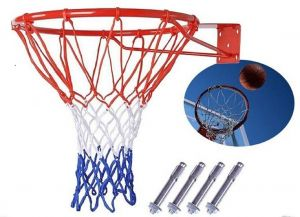f68675da5344 Basketball Hoop Net Ring Wall Mounted Outdoor Hanging Basket