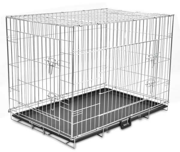 Vidapets Large Foldable Metal Dog Cage Souq Uae