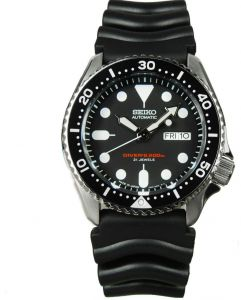 Seiko Automatic Diver S For Men Sport Rubber Band Watch Skx007j1