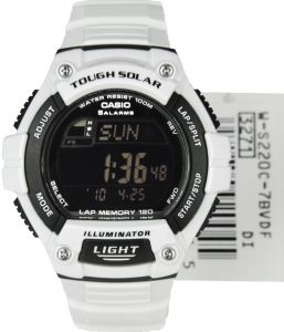 4118831e94631 Casio Standard for Men - Digital Resin Band Watch - W-S220C-7BV