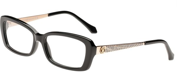 Buy Roberto Cavalli Rectangle Black Women\'s Optical Frame - Rc 0822 ...