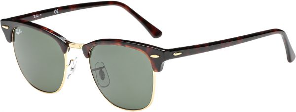 cace3ac0f7 Ray-Ban Wayfarer Unisex Clubmaster Sunglasses - RB3016-W0366-51-21-145