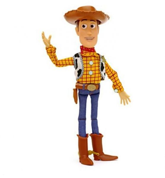 5a642f1c27c 15 inch Pixar Toy Story 3 Sheriff Woody Pull String Talking Doll Action  Figure Toy Voices Speak PVC Figure Toy