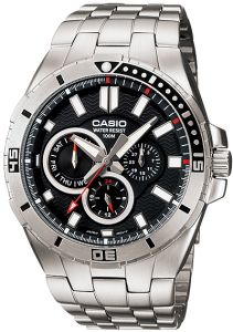 be07ab3ee سوق   تسوق casio 1429 abc time mens digital stainless steel watch ...
