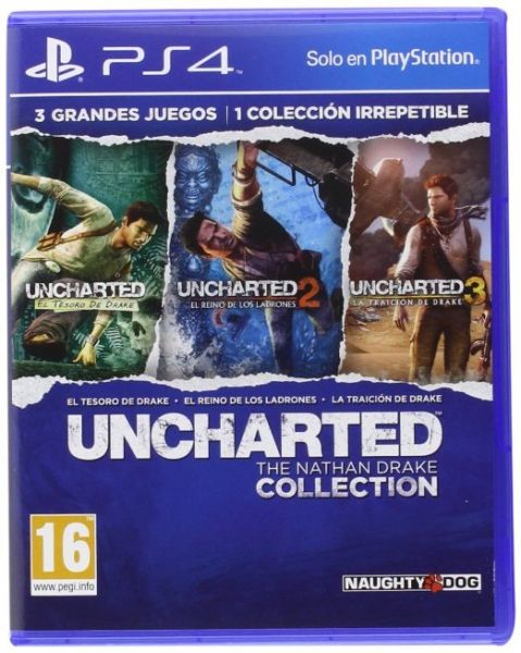 Uncharted The Nathan Drake Collection للبلاي ستيشن 4 من نوتي دوج