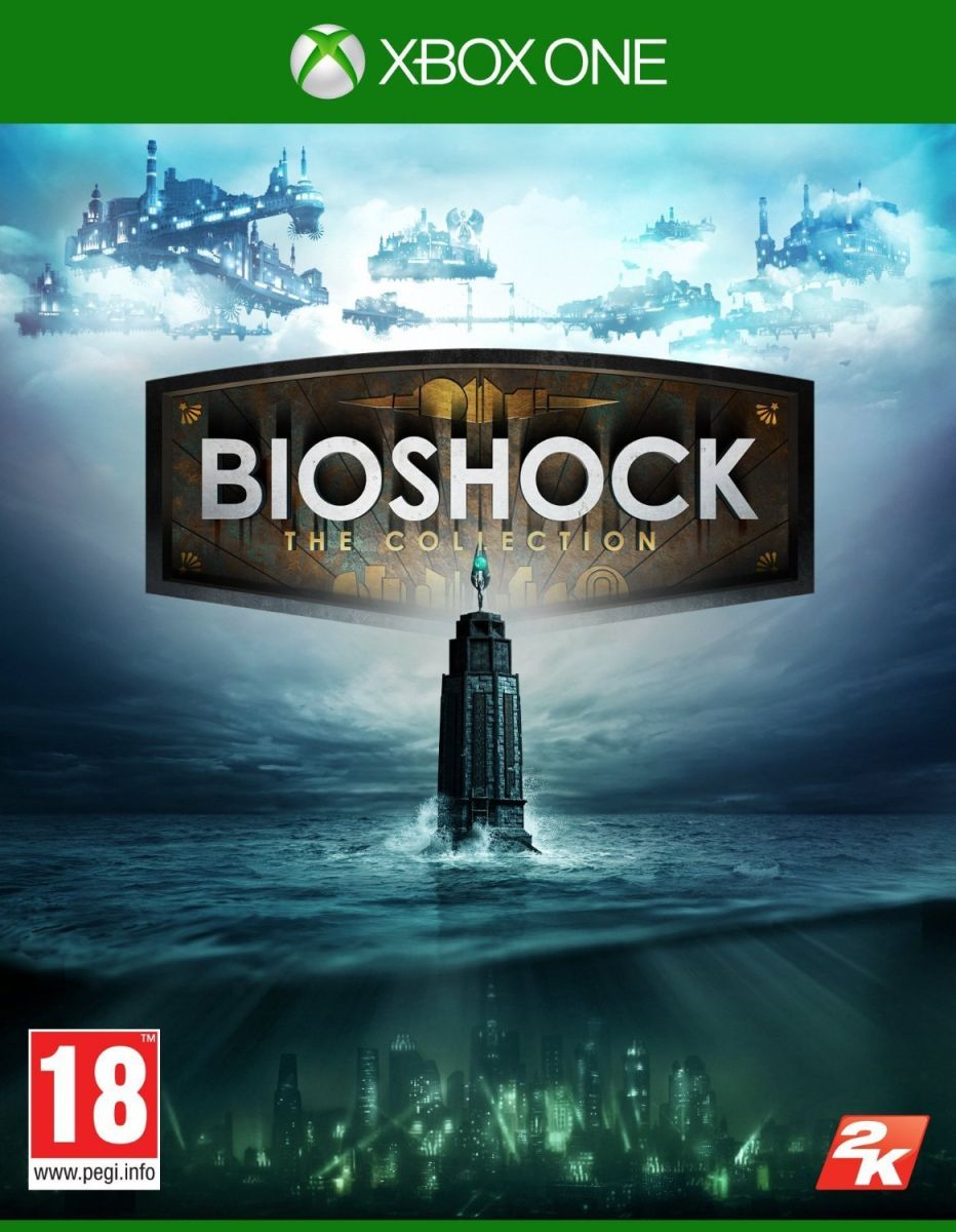 Bioshock The Collection Xbox One للاكس بوكس 1 من 2 كيه