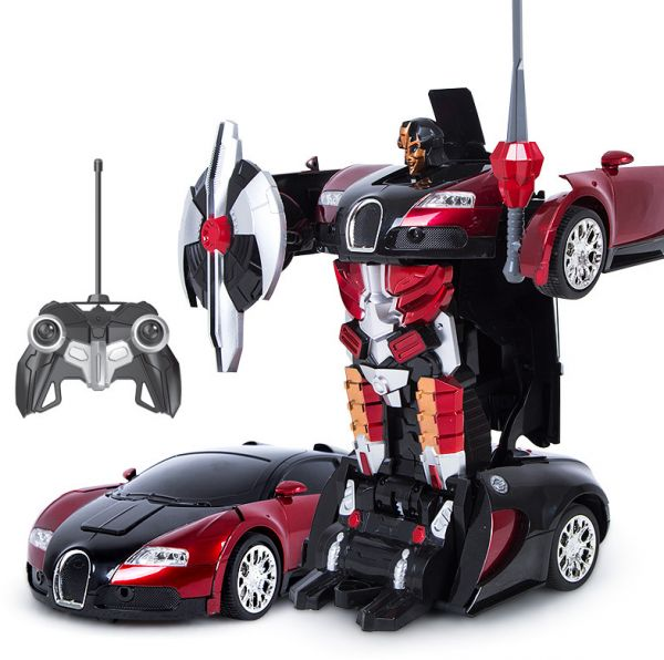 Remote Control Transformers Robot Electric Car Toys For Children