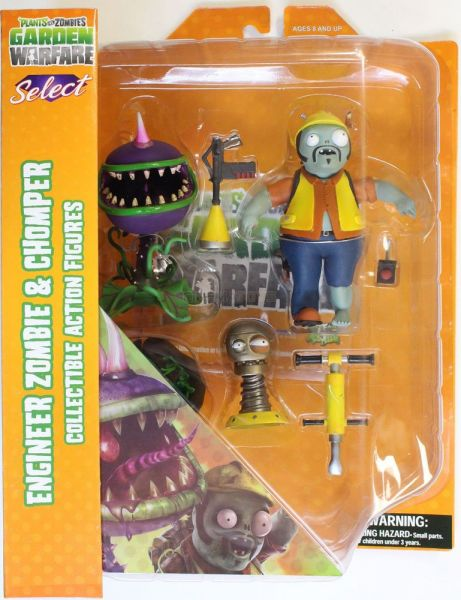 Souq Diamond Select Toys Plants Vs Zombies Garden Warfare Engineer Zombie Vs Chomper Select