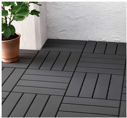 Buy indoor outdoor floor tiles grey ksa souq for Indoor outdoor wood flooring