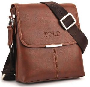 2a1981f203 Videng Polo Classic Design Travel Business Bag for Men - Leather