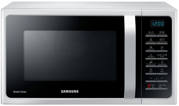 Samsung Microwave Grill And Convection 28 Liter White Mc28h5015aw