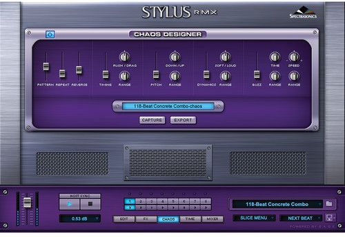 Spectrasonics Stylus RMX Xpanded Realtime Groove Module - 3OMNI2D