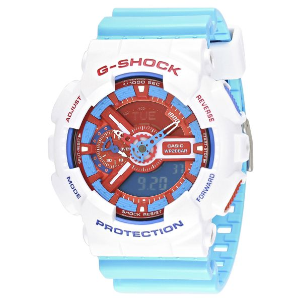 53f0c3de79a0 Casio G-Shock Men s Doraemon Limited Edition Ana-Digi Watch - GA-110AC-7A