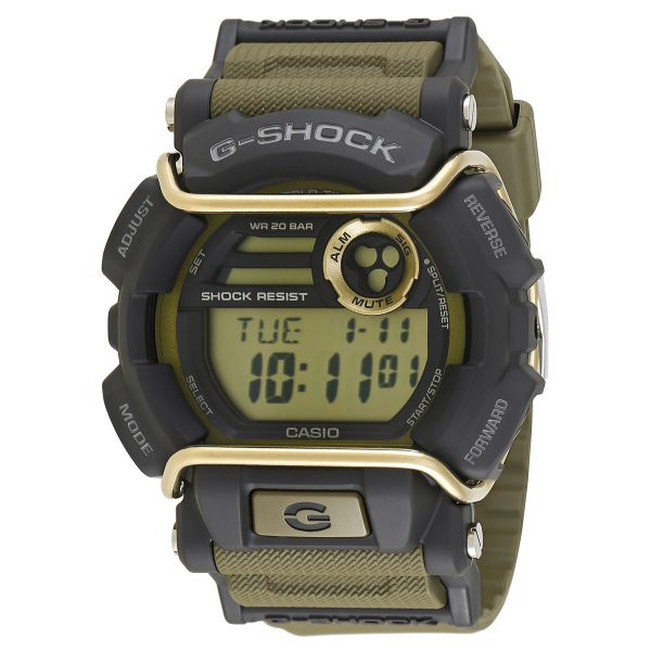 finest selection 40475 75d43 Casio G-Shock Men's Digital Dial Resin Band Watch - GD-400-9DR