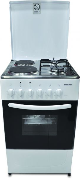 electric cooking stoves coil 52500 aed nikai gas cooking range with electric oven 50x55cm white tfgn1n22