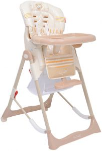 4f795034549 Pierre Cardin PS124 5 Step Baby High Chair - Beige