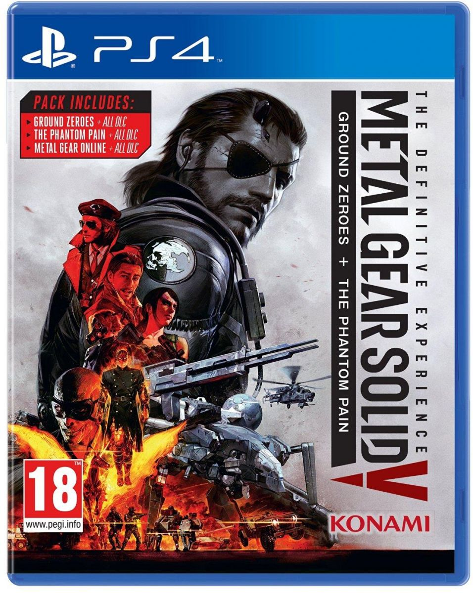 Metal Gear Solid V The Definitive Experience (PS4) للبي سي من كونامي