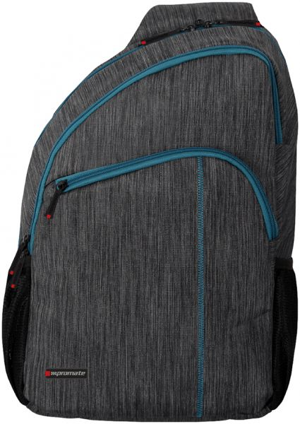 Promate 12 Inch Ascend Accented Laptop Sling Bag