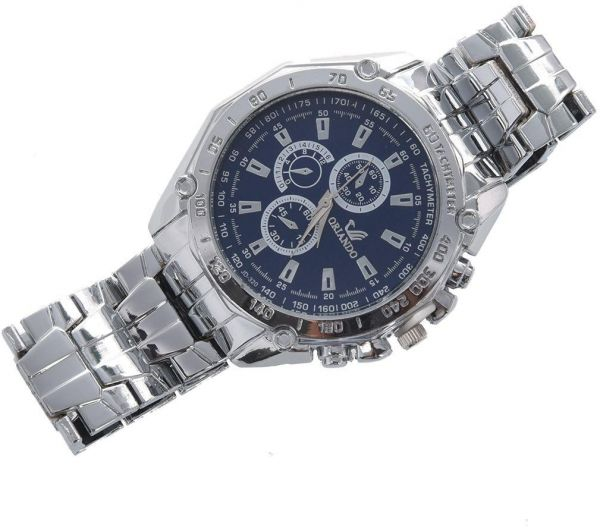 Orlando Casual Watch For Men Analog Stainless Steel - 7083