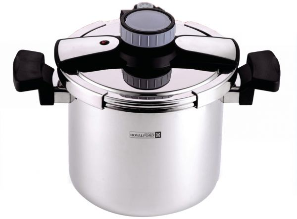 43276a6b959 Royalford Stainless Steel Pressure Cooker 5 Litre - RF-7604