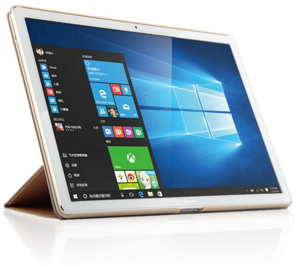 buy huawei matebook hz w09 tablet 12 inch 128gb 4gb gold ksa souq. Black Bedroom Furniture Sets. Home Design Ideas