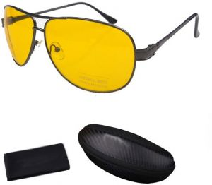 bc7b18c9152 Anti-glare Day Night Vision Goggles Driving Polarized Sunglasses for men  with box and cleaner