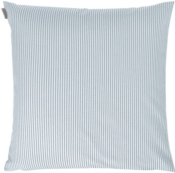 Indes Fuggerhaus Charlie Striped Decorative Cushion Cover Jeans