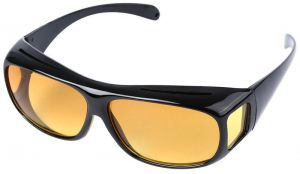 f533cefa28 Unisex Night Optic Vision Driving Anti Glare HD UV Protection Sunglasses