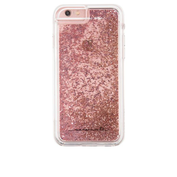 official photos edd41 5f241 Case-Mate Waterfall Cascading Liquid Glitter Protective Design for iPhone 7  - Rose Gold