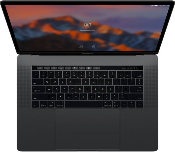 b696eee83122f8 Apple MacBook Pro 2016 Laptop With Touch Bar MLH32 - Intel Core i7 2.6GHz, 15  Inch, 256GB SSD, 16GB RAM, 2GB VGA Radeon Pro 450, English Keyboard, macOS,  ...