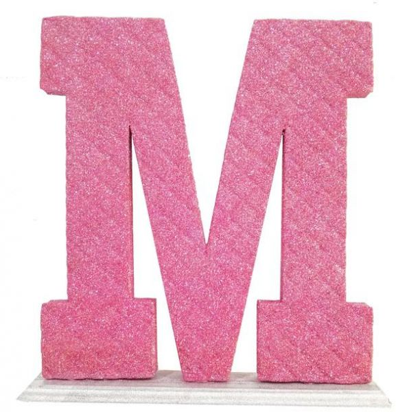 photo about M&m Game Printable identify Decoration Letter M - Red