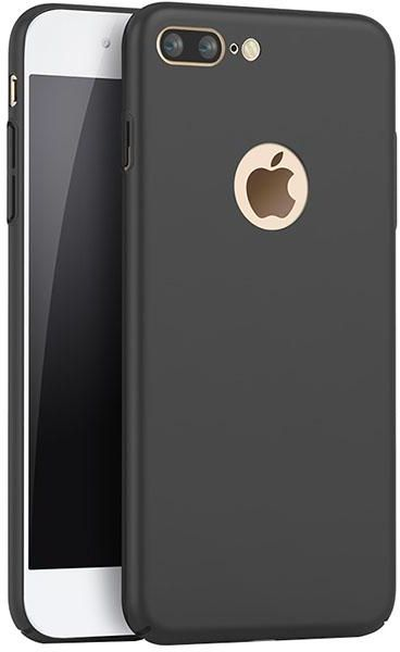 new products 18e0f 64e5d iPhone 7 Plus Case Cover (2016), Smoothly Shield Skin Ultra Thin Slim Full  Body Protective Scratch Resistant iPhone7 Plus Cover-Black