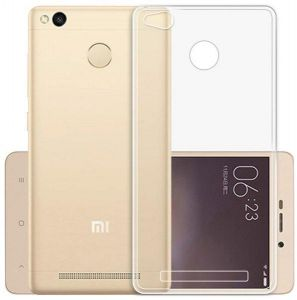 Silicone Case Cover For Xiaomi Redmi 3S / Redmi 3 Pro - Transparent