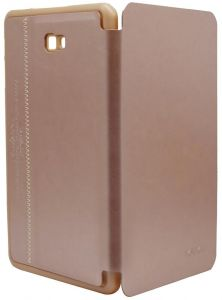 Folio Protection Cover By Kaku ForSamsung Galaxy Tab A 10.1 (2016) SM-T585 , 10.1 Inch - GOLD