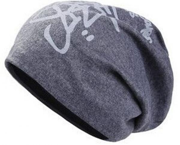 a5d93477 Grey Cotton Beanie & Bobble Hat For Unisex | Souq - UAE