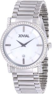 17a706b49 Jovial Men's White Dial Stainless Steel Band Watch - 5112 GSMQ 05 ZE