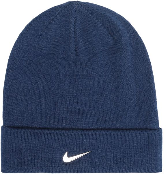 a63d94f17bf Nike Blue Acrylic Beanie   Bobble Hat For Men