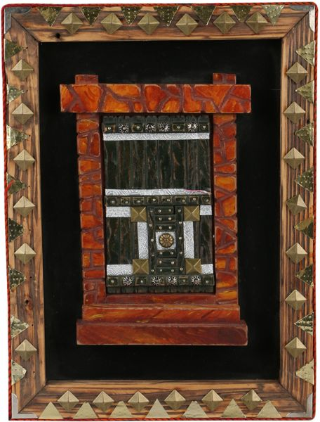 Decorative Wooden House Frame By Soor