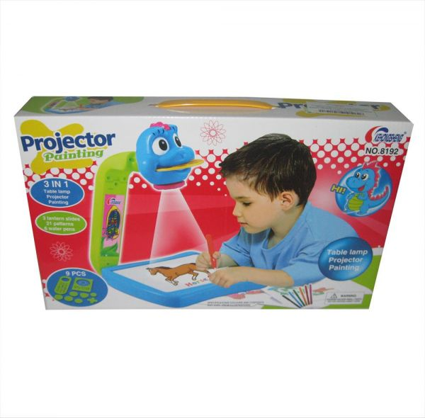 souq projector painting set with 21 different colored pictures and