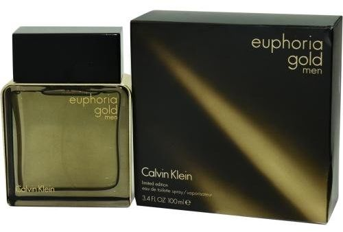Euphoria Gold By Calvin Klein For Men Eau De Toilette 100ml Ksa