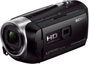 Sony Flash Memory Camcorder, 1080P Resolution, 30x Optical Zoom, 2.7 Inch Screen Size Black - HDR-PJ410