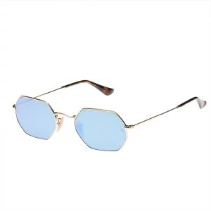 f6c070cffb Ray-Ban Round Flat Lens Light Unisex Sunglasses - RB3556N-001 9O