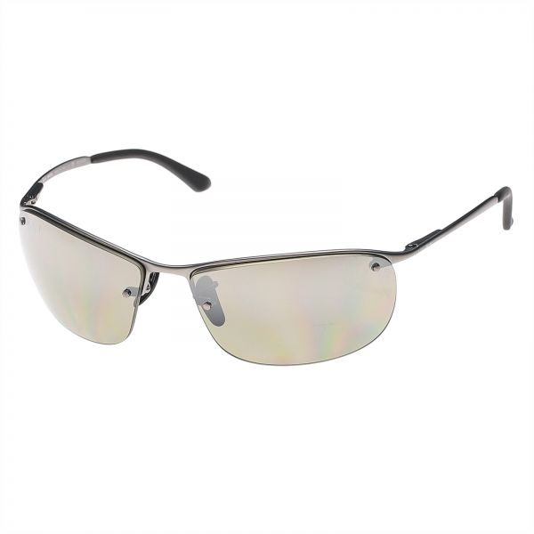 b702d2b409 Ray-Ban Rectangle Chromance Polarized Silver Mirror for Men ...